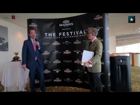 Cheltenham Racecourse Festival 2019 conference