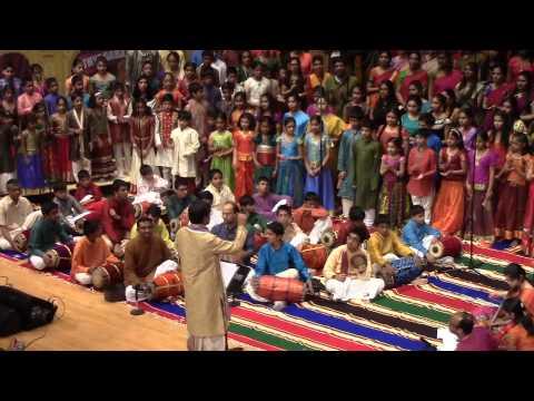 Neyveli Santhanagopalan Sir's Choir at Cleveland tyagaraja aradhana