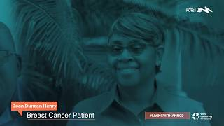 Joan Duncan Henry - #LivingWithAnNCD Breast Cancer Patient Testimonial