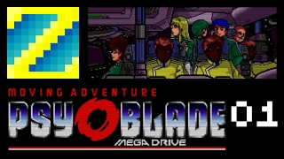Psy-O-Blade - 01 - A Quite Moving Adventure - Featuring Bobo the Vulture
