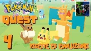 RICETTE ED EVOLUZIONI! - POKEMON QUEST [ITA]