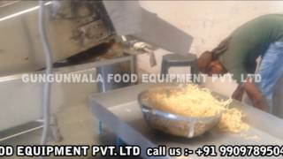Soya Stick Fryer By GUNGUNWALA FOOD EQUIPMENT PVT.LTD