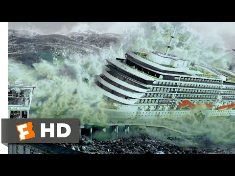 San Andreas (2015) - Tsunami Hits the Bay Scene (8/10) | Movieclips