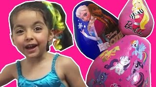 PRINCESS ELSA + Anna, Barbie Dreamhouse, Doc McStuffins, MLP – BEST GIRLS TOYS OF 2015!