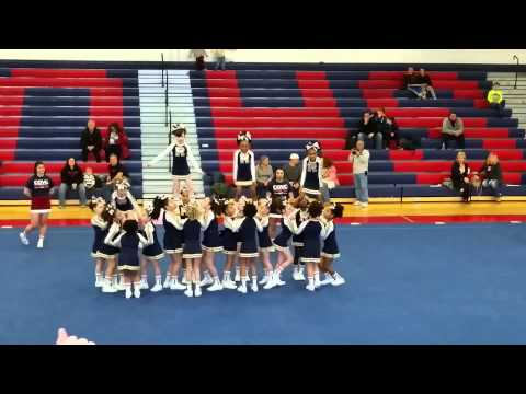 Pee Wee 2/2015 Catherine O'Hara Cheer Comp