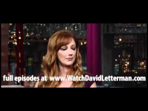 Judy Greer in Late Show with David Letterman March 3, 2011