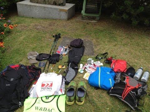 Ultra Trail TDS Alpine Pre-Race Equipment Check