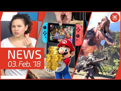 NEWS Nintendo Switch Online - Mario Kart Tour - Monster Hunter World - C64 Mini - Fallout 4 - RDD2