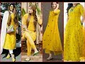 Latest Yellow Color  Suits Design for college,formal,casual wear girls fashion latest women fashion