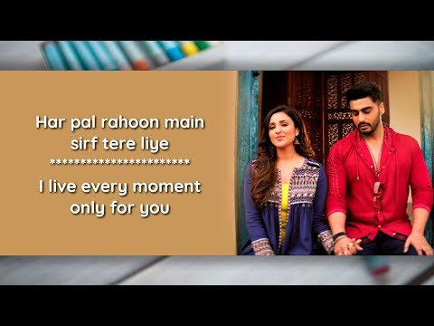 Tere Liye Lyrics With Translation | Namaste England, Atif Aslam |Tere Liye Full Song English Meaning