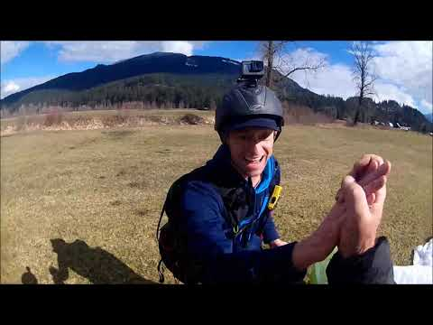 Paraglider Winch Towing