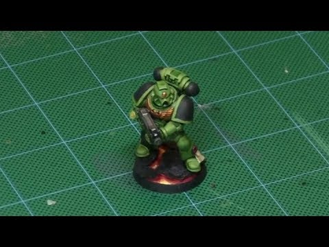Quick 'n Dirty: Salamander Tactical Marine