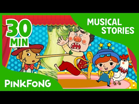 Pinocchio | Fairy Tales | Musical | + Compilation | PINKFONG Story Time for Children