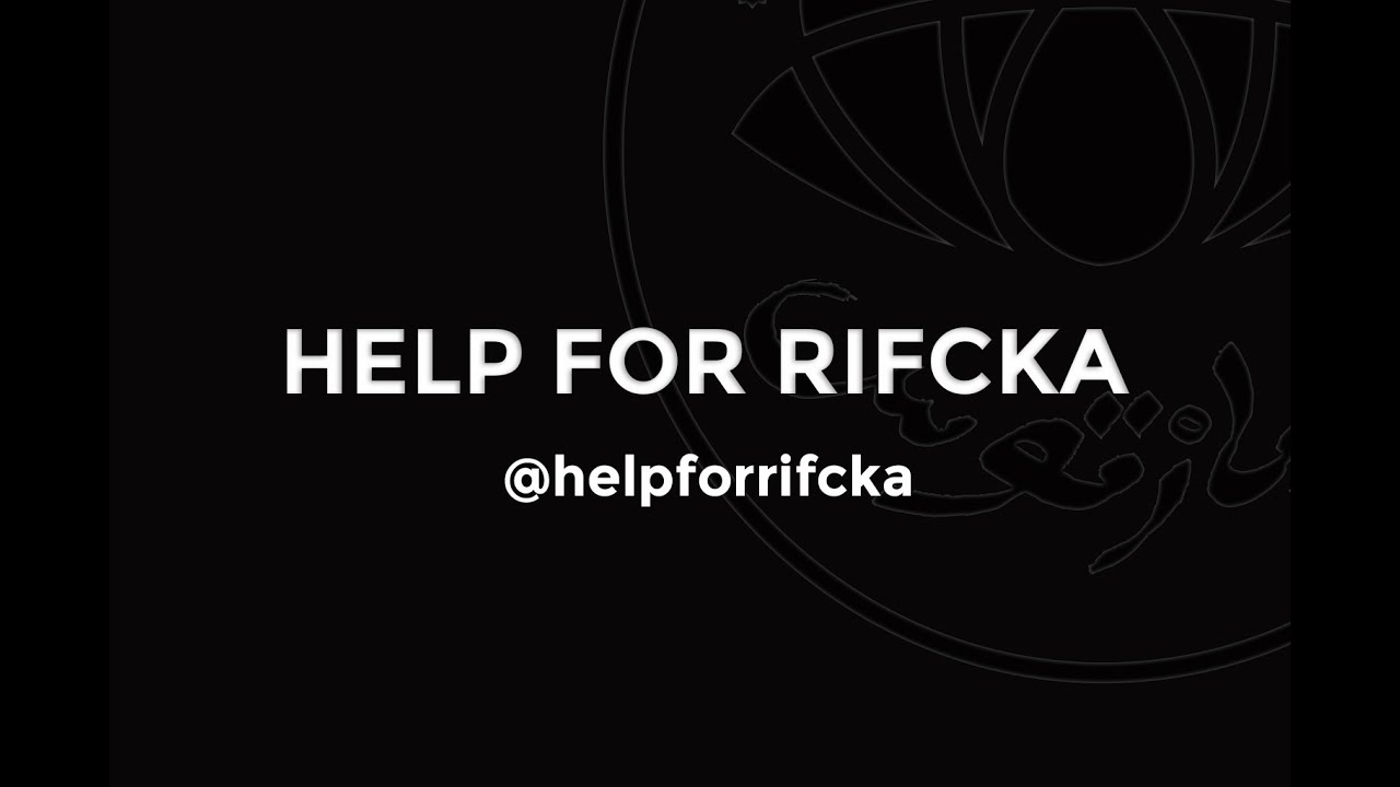 HELP FOR RIFCKA