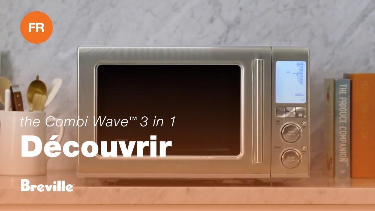 Saluez le Combi Wave™ 3 in 1 – Friteuse à air chaud, Four à convection & Micro- ondes