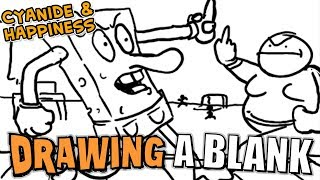 Um... Sponge Bob?!! - Cyanide & Happiness - Drawing a Blank Ep. 26