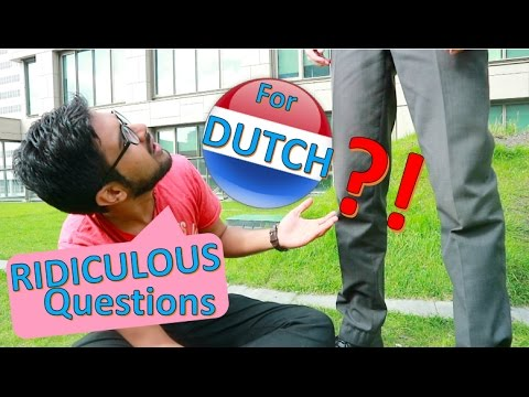 MOST Ridiculous Questions You Should STOP Asking EVERY Dutch