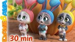 🐰Sleeping Bunnies | Baby Songs and Nursery Rhymes | Dave and Ava 🐰