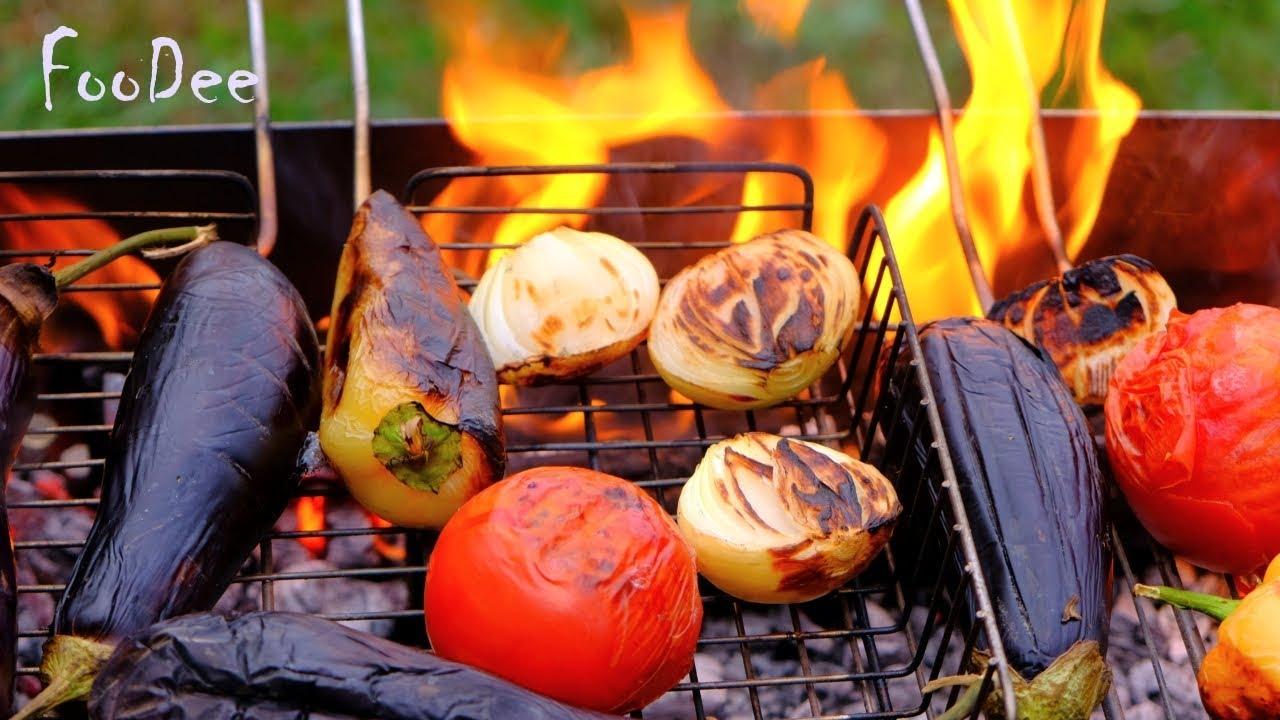 Загорелый БАКЛАЖАН. Аджаб-Сандал на мангале или в духовке - НУЖНО приготовить это блюдо