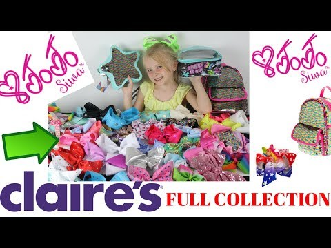 My NEW JoJo Siwa Bow & Accessories Full Collection Video