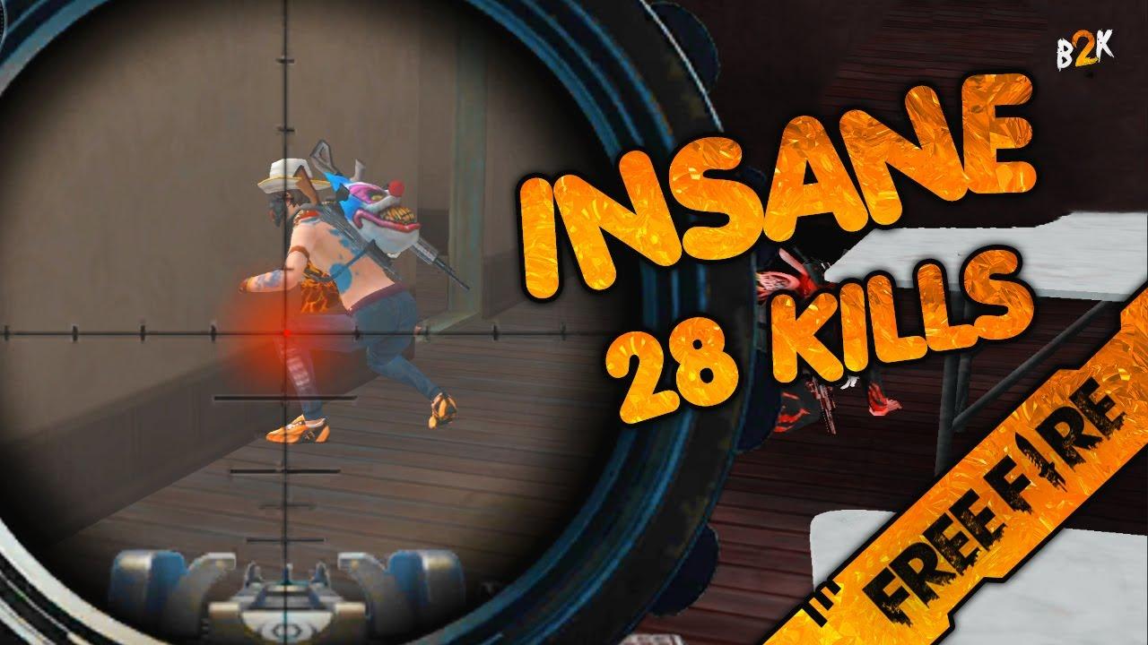 [B2K] THAT'S INSANE 28 KILLS GAMEPLAY
