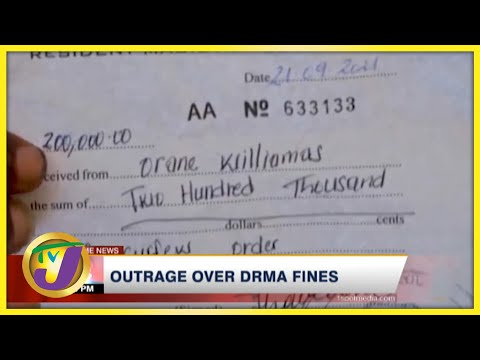 St. Thomas Residents Outraged Over Covid Fines | TVJ News