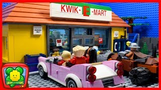 Incredibles 2 Ep 5 - Shopping Fail At The Supermarket   Lego Stop Motion   Cartoon For Kids
