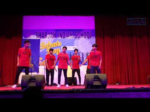 Sharjah Indian School Talent's Day 2K17 by MEME DANCE