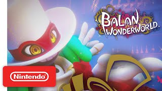 BALAN WONDERWORLD - Title Announcement Trailer - Nintendo Switch
