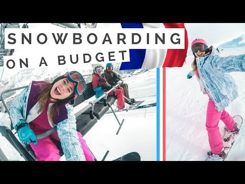 Last Minute BUDGET Ski Holiday in the French Alps [travel vl