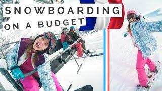 French Ski Resorts - Last Minute BUDGET Ski Holiday in the French Alps [travel vlog]