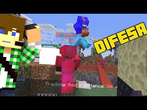 Difesa definitiva! - Minecraft Bedwars - Видео из Майнкрафт (Minecraft)