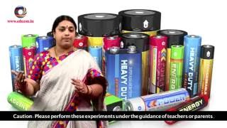 Science Experiment - How to Make a Dry Cell(Battery) || 7thclass General Science
