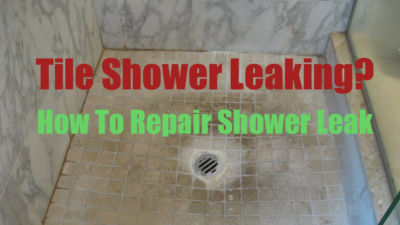 Tiled Shower Leak Repair MA RI