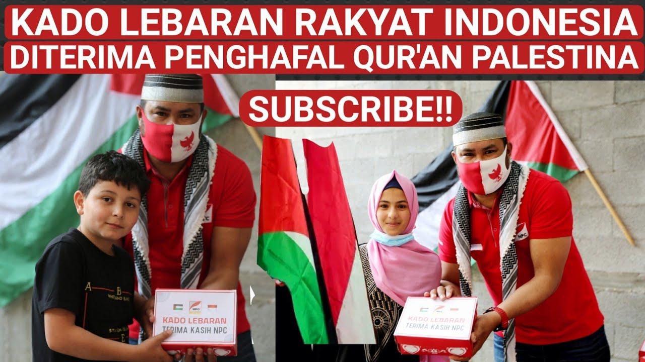 KADO LEBARAN RAKYAT INDONESIA SUDAH DITERIMA PENGHAFAL QUR'AN