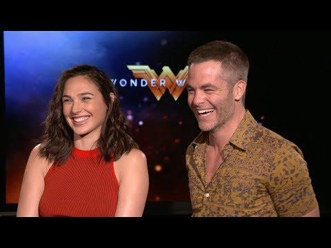 WONDER WOMAN - Gal Gadot & Chris Pine Interview (2017)