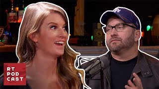 RT Podcast: Ep. 471 - Burnie Puts Ashley on the Hot Spot | Rooster Teeth thumbnail