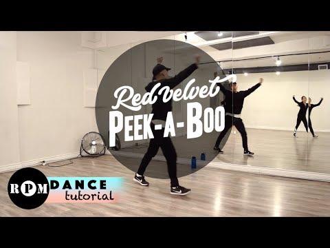 "Red Velvet ""Peek-A-Boo"" Dance Tutorial (Second Chorus, Ending)"
