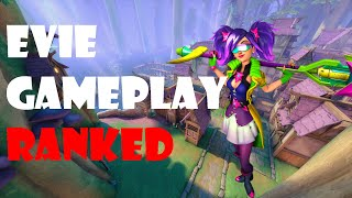 Paladins Evie Ranked Gameplay - Another Match Of My Most Favorite Champion