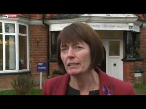 Chief Executive Clare Pelham | Epilepsy Society | Sky News