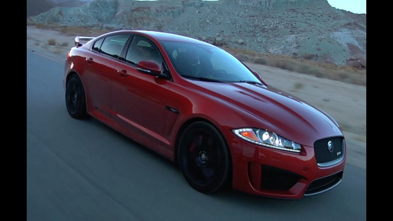 The Jaguar XF-RS S tires - YouTube