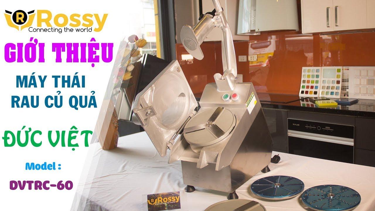 Giới thiệu máy thái rau củ quả DVTRC-60 | Vegetable Cutter | Máy thái rau củ quả | 0989999884