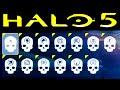 HALO 5 | ALL SKULL LOCATIONS (Halo 5 Guardians Skulls)