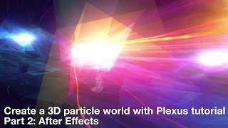 إنشاء 3D عالم الجسيمات مع الضفيرة التعليمي الجزء 2: بعد الآثار