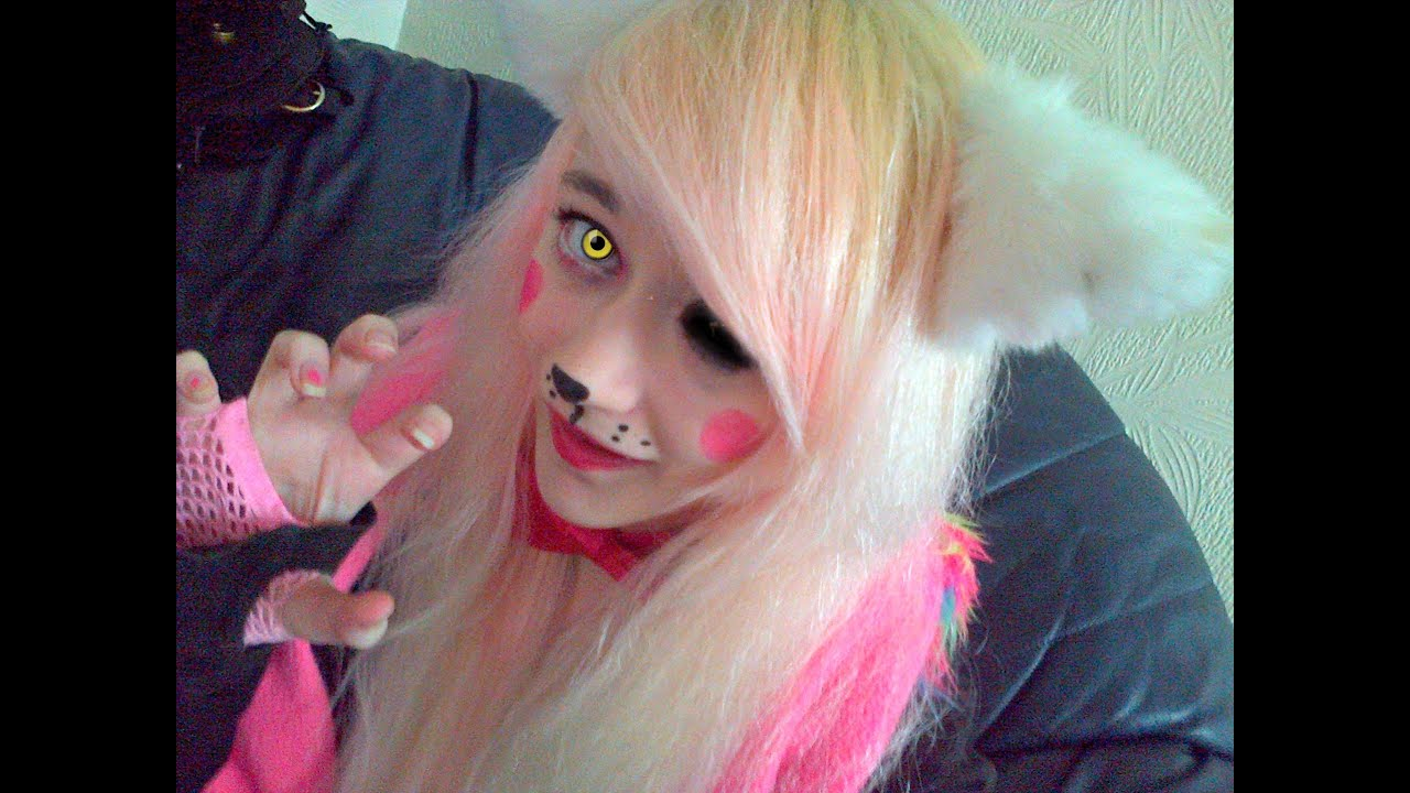 Mangle Cosplay Makeup Youtube