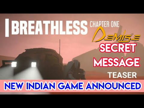 Demise Game Latest Update | New Indian Game 2020 | Breathless Chapter 1