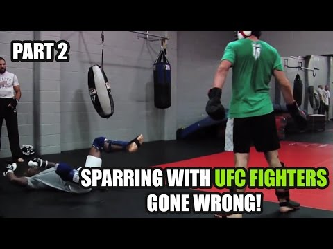 Sparring With UFC Fighters GONE WRONG! [Top 5 Compilation] Part 2