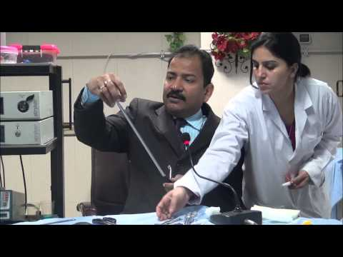 Master Class Of Laparoscopic Hand Instruments Demonstration By Dr. R.K. Mishra