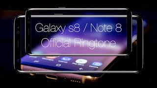 Hey there, you are listening the ringtone of galaxy s8/ note 8. give it a thumbs up if like and don't forget to subscribe. want your song on th...