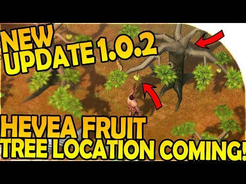 NEW UPDATE 1.0.2 + HEVEA FRUIT TREE LOCATION INBOUND - Last Day on Earth Jurassic Survival Gameplay